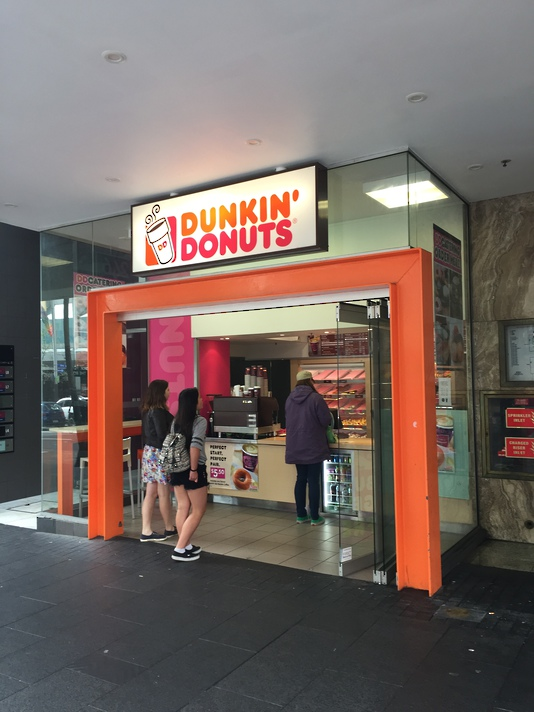 Lightbox Retail Sign - Dunkin Donuts