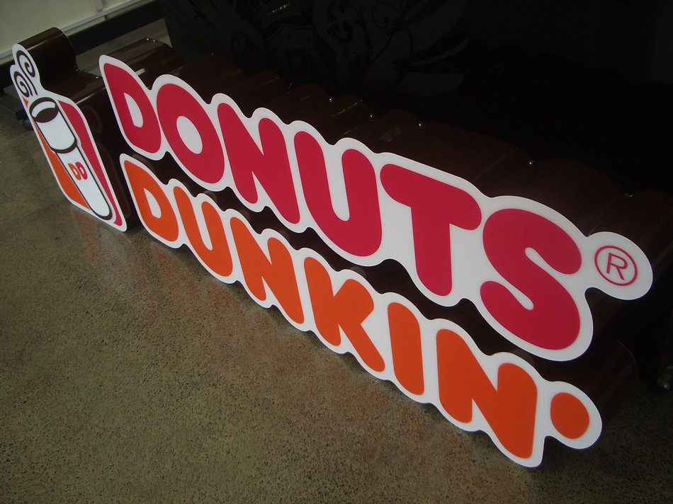 Retail Sign - Dunkin Donuts