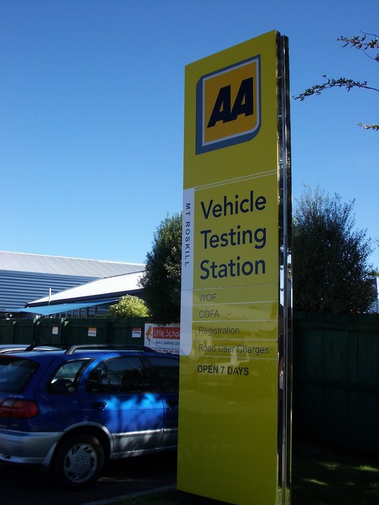 AA Vehicle Testing Pylon