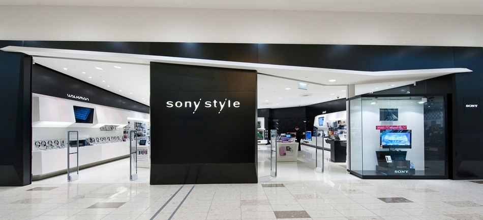 Custom Signage and Branding - Sony Style