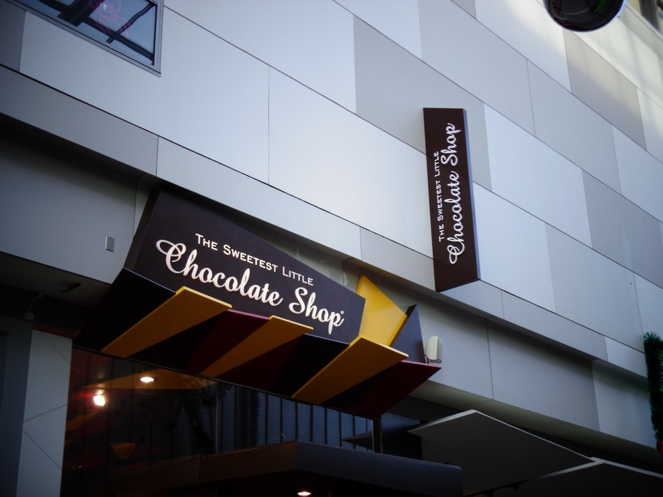 Custom Retail Signage - The Sweetest Little Chocolate Shop