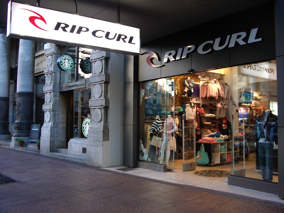 Lightbox Retail Sign - Rip Curl