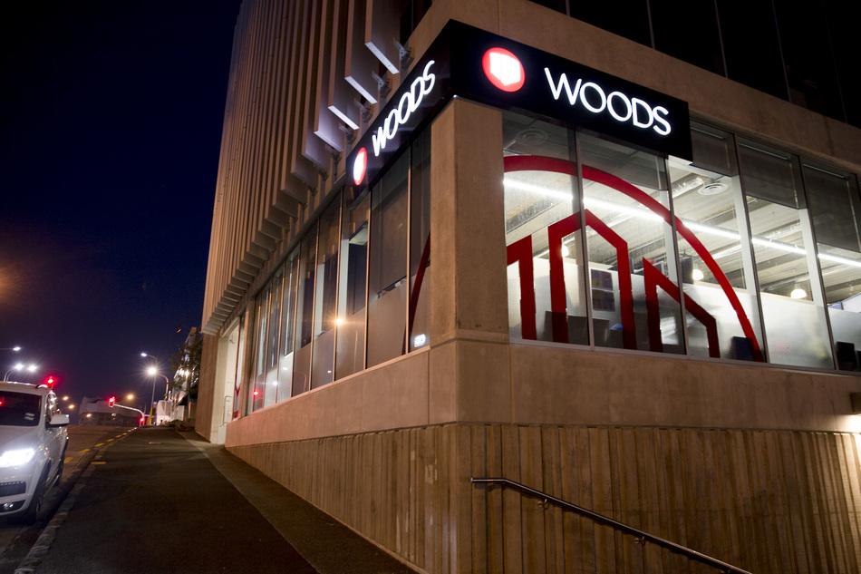 Backlit Signage - Woods