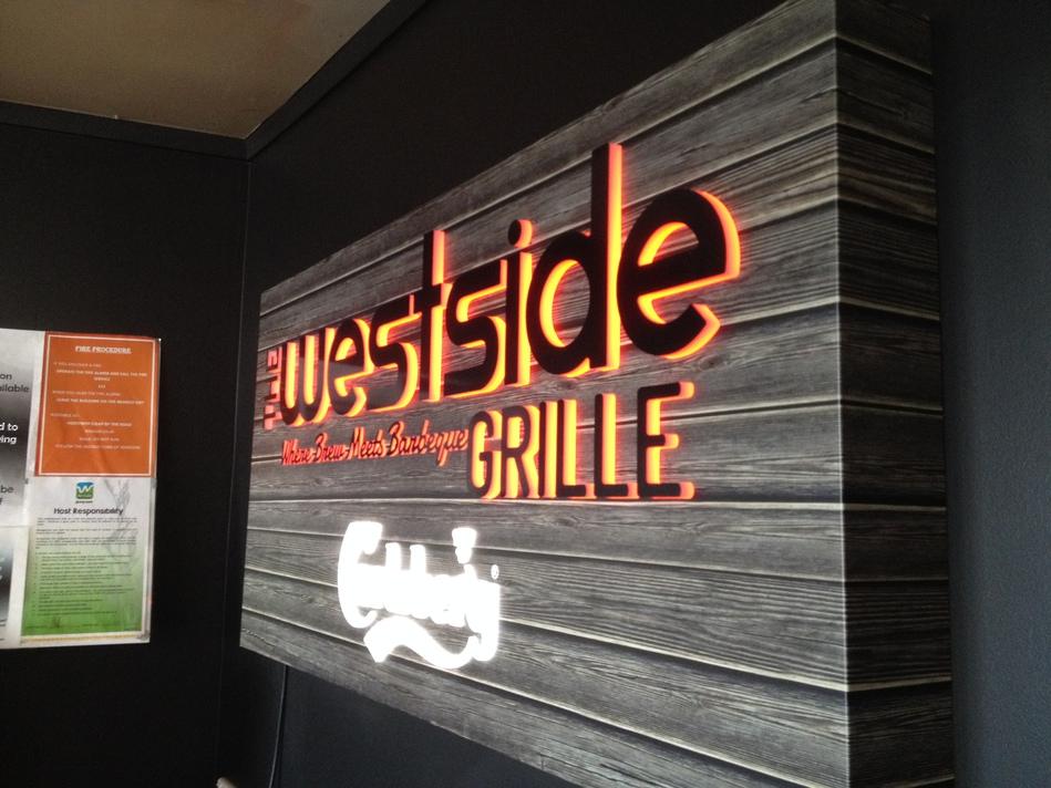 Westside Grille Illuminated Sign