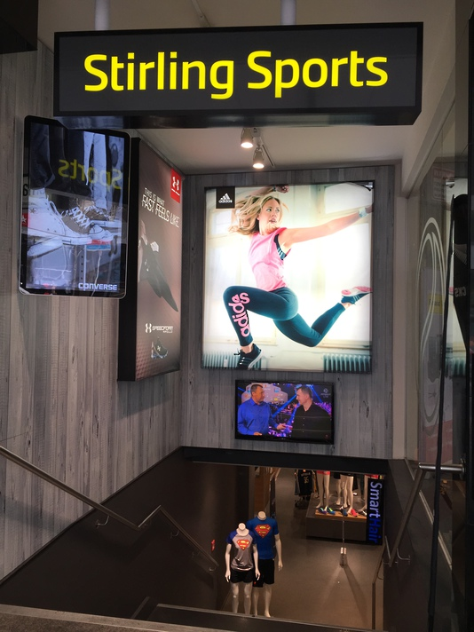 Lightbox Signage - Stirling Sports