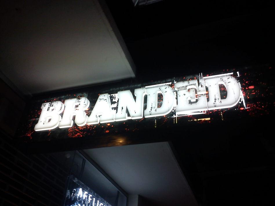 \'Branded\' Illuminated Store Signage