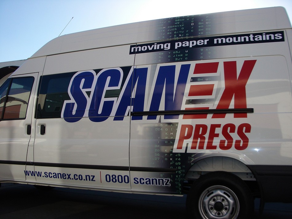 Van Signage - Scanex Press