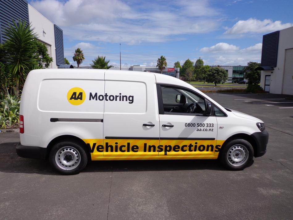 AA Motoring Branded Van