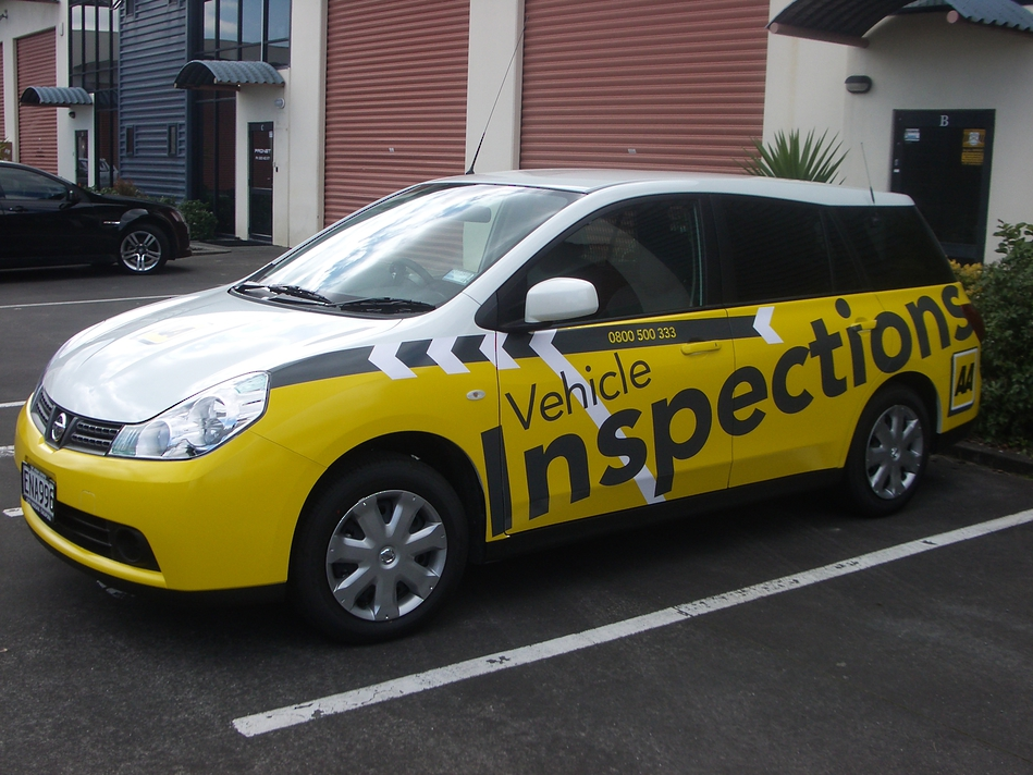 Company Branded Vehicle -Vehicle Inspections #1