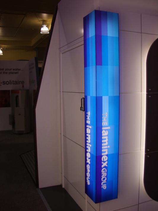 Illuminated Retail Installation - Laminex Group #3