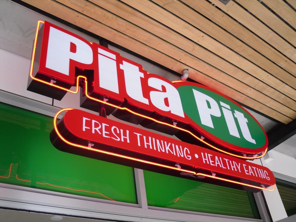 Pita Pit Sign