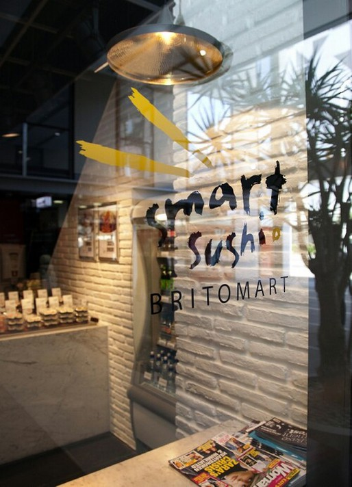 Branded Retail Window Graphics - Smart Sushi