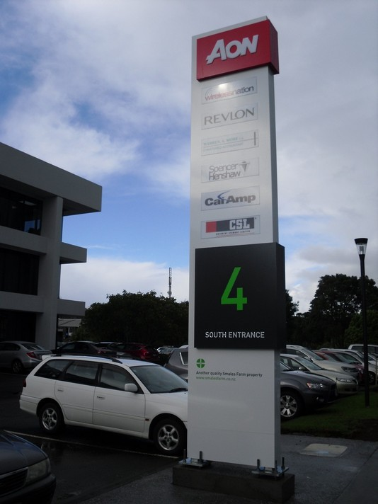 Smales Farm Southern Entrance - Pylon Sign