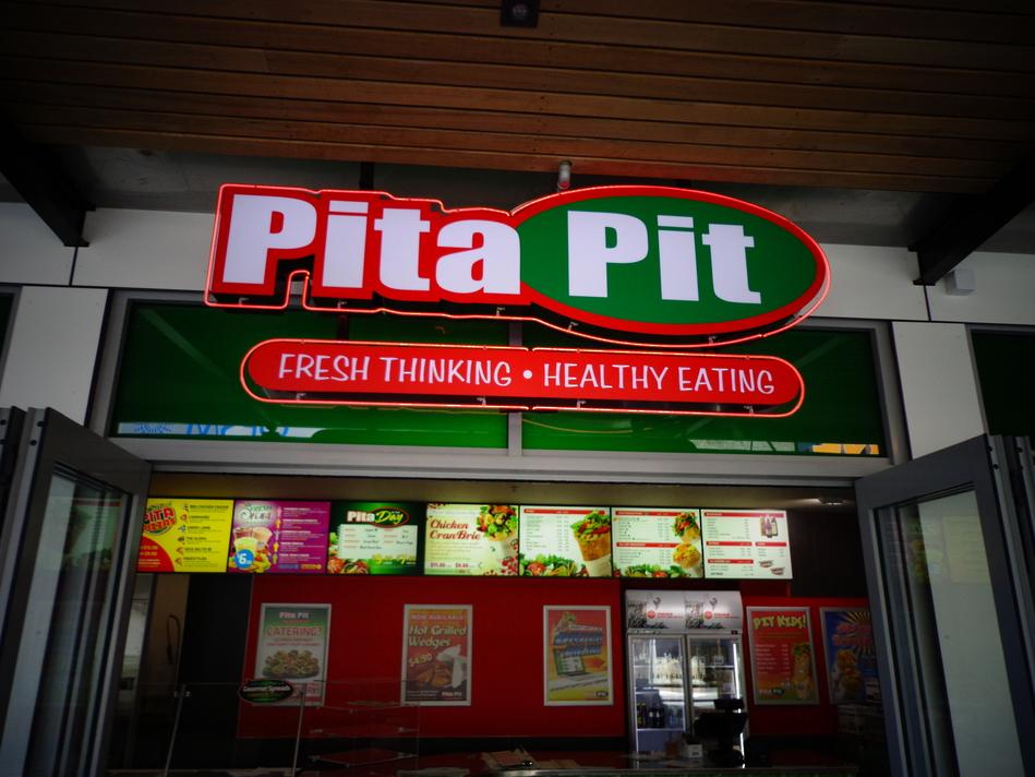 Pita Pit - Retail Store Front Signage
