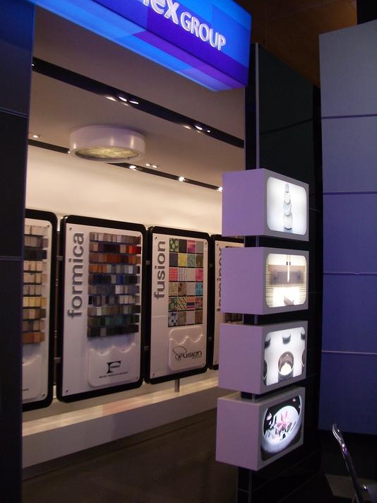 Illuminated Retail Installation - Laminex Group #2