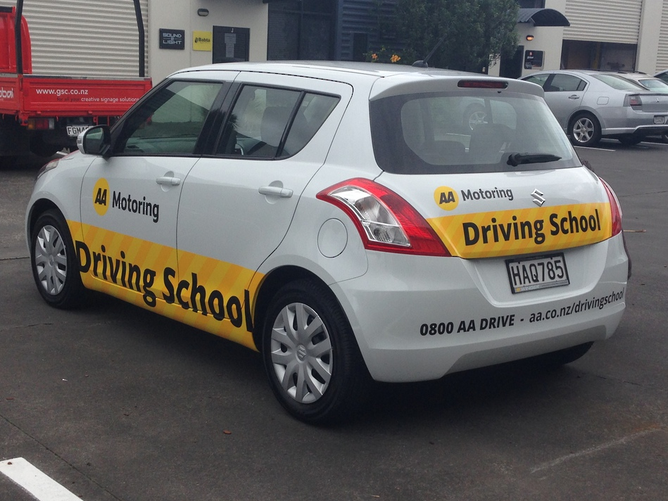 Company Branded Car - AA Driving School #1