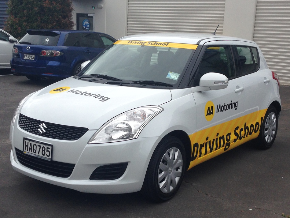 Company Branded Car - AA Driving School #2