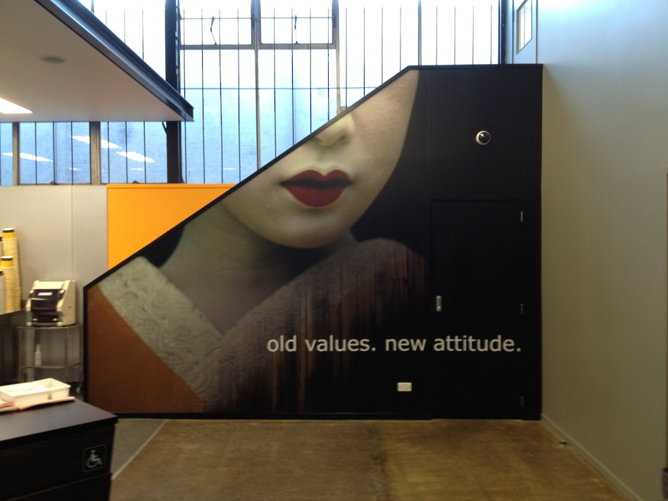 Branded Wall Graphics & Signage - Smart Sushi