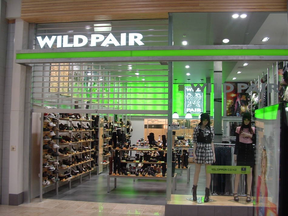 Illuminated Retail Shopfront - WildPair