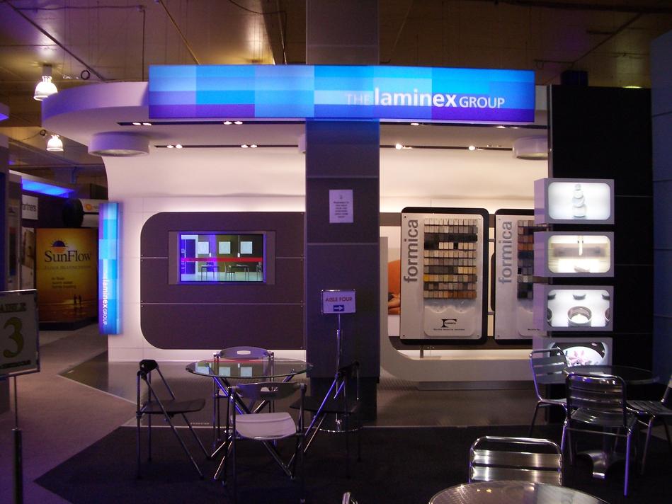 Illuminated Retail Installation - Laminex Group