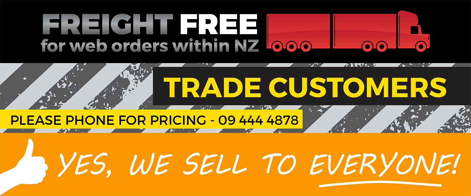 Freight free for New Zealand customers