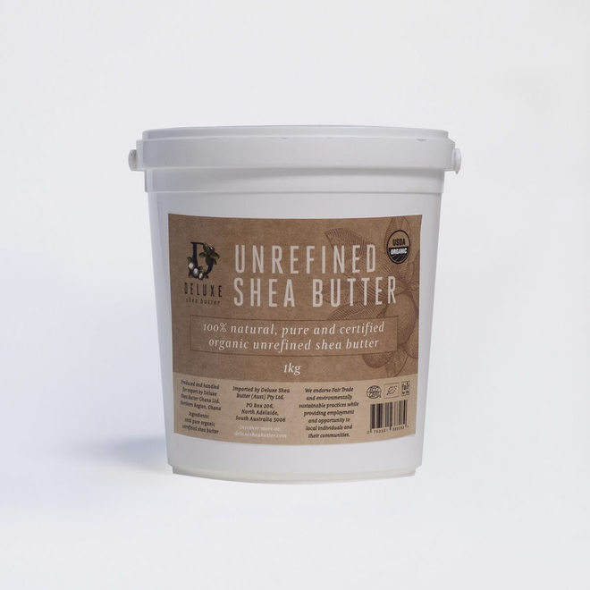 Deluxe Shea Butter Skincare, certified organic 1kg image 0