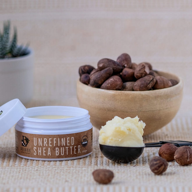 Deluxe Shea Butter Skincare, certified organic 100g image 2