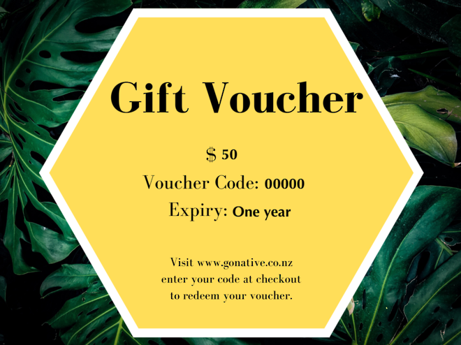 Go Native New Zealand Gift Voucher image 0
