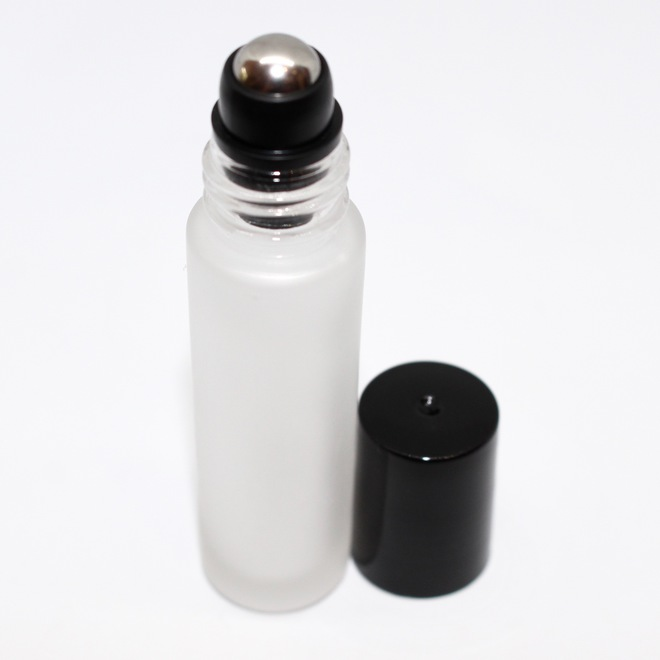 Roll-on frosted glass bottle: 10ml image 0