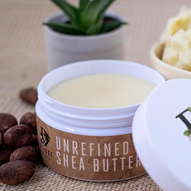 Deluxe Shea Butter Skincare, certified organic 250g image 1