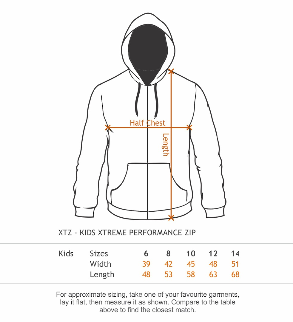 Performance Zip Hood - Lightweight Sports 270gsm image 2