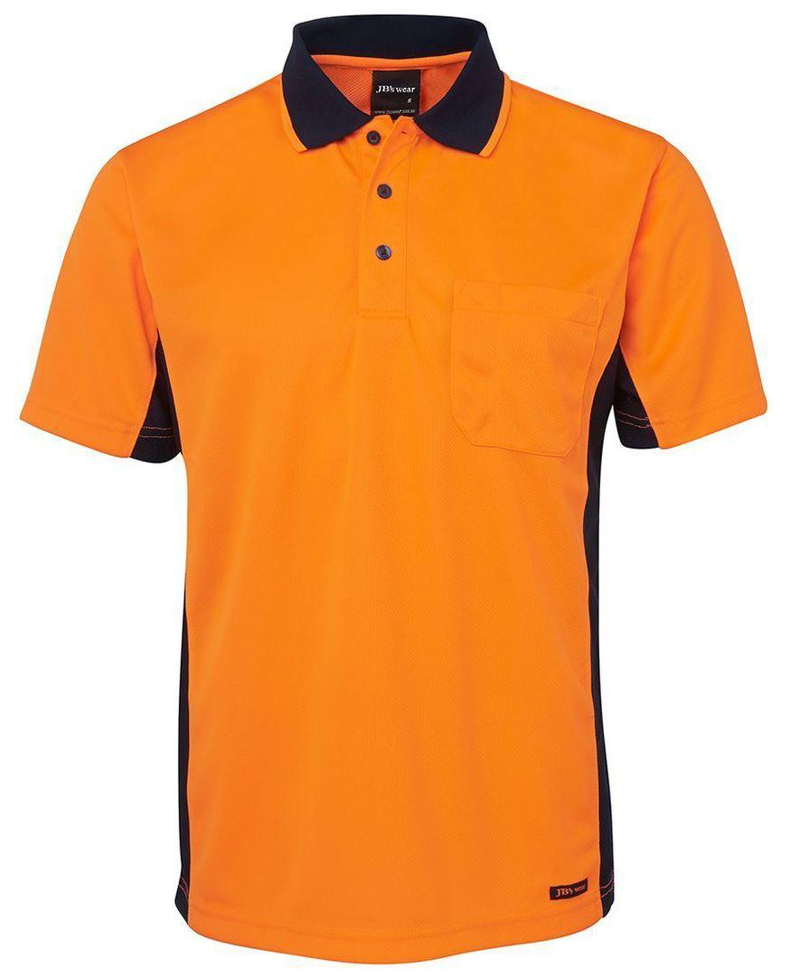 6SPHS Hi Vis S/S Sport Polo image 4