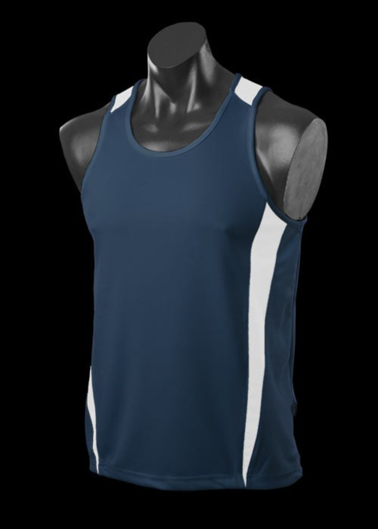 Mens and Womens Deluxe Eureka Singlets image 4
