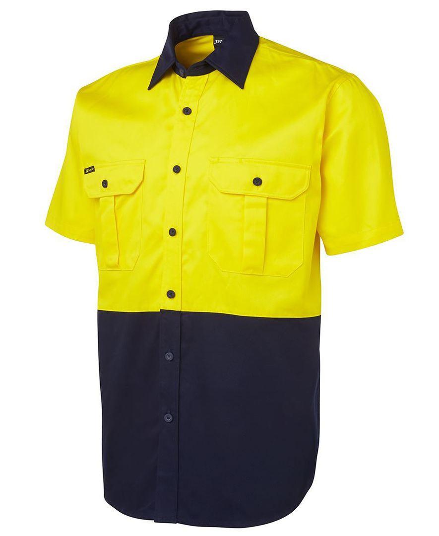 6HWS Hi Vis S/S 190G Shirt image 1