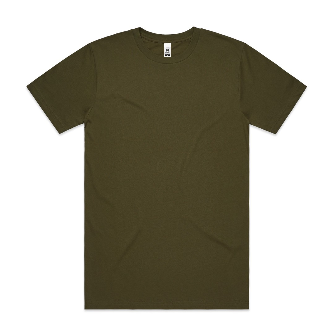 MENS BLOCK TEE (3XL-5XL) - 5050B image 6