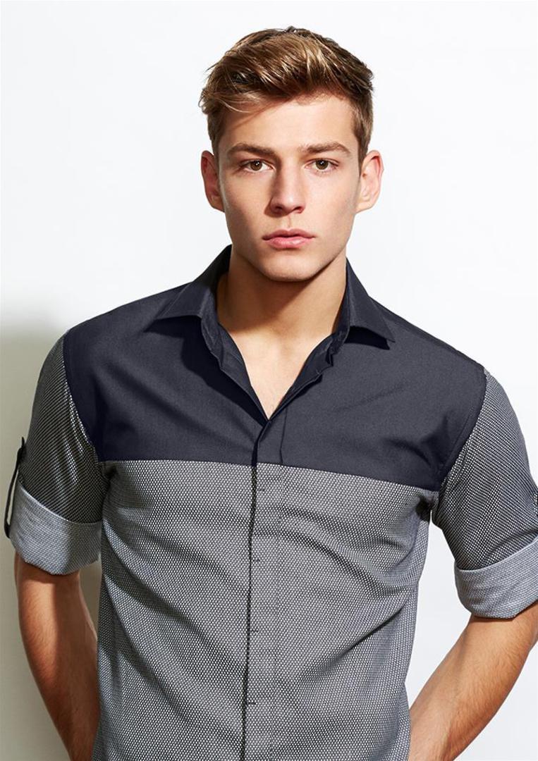 Mens Havana Long Sleeve Shirt image 0