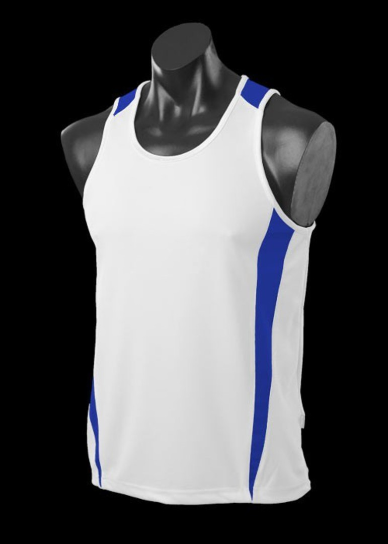 Mens and Womens Deluxe Eureka Singlets image 2