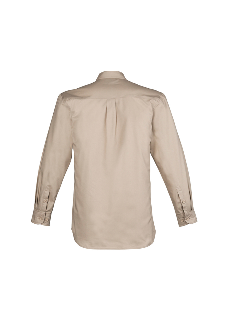 ZW121 Mens Lightweight Tradie Shirt - Long Sleeve image 6