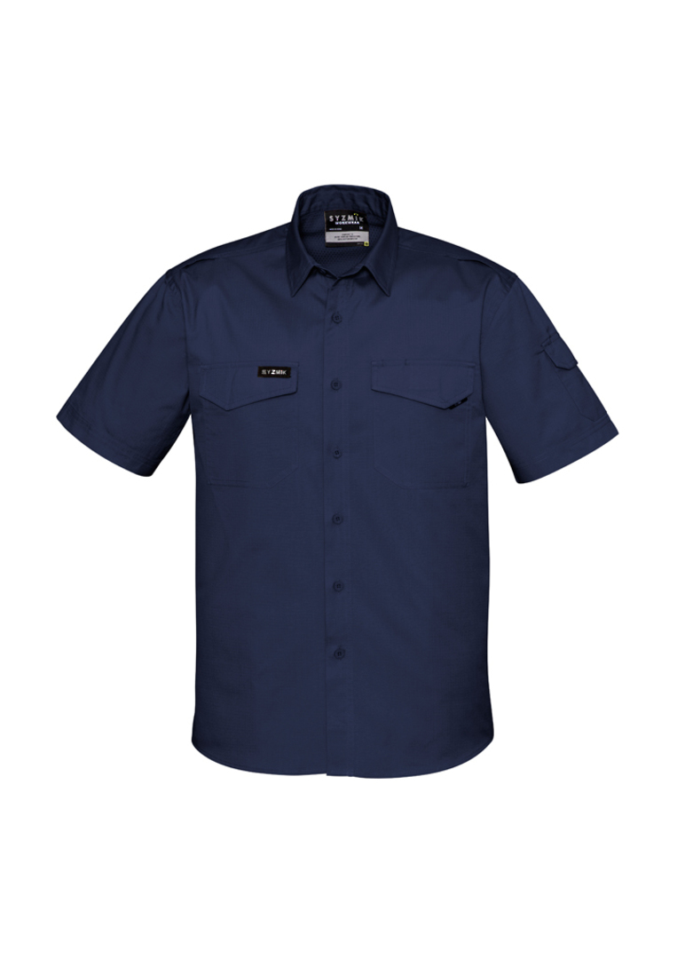 ZW405 Mens Rugged Cooling Mens S/S Shirt image 6