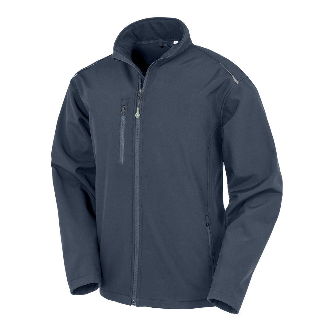 Recycled 3-Layer Softshell Jacket image 4