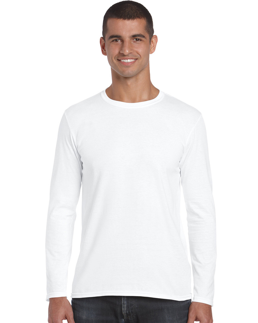 Softstyle® Euro Fit Adult Long Sleeve T-Shirt image 0