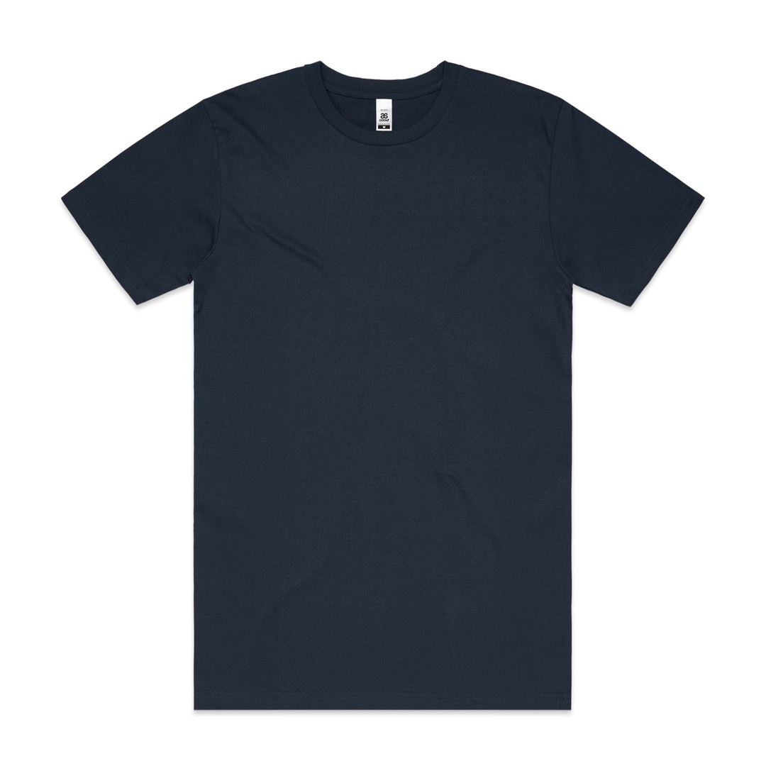 MENS BLOCK TEE (3XL-5XL) - 5050B image 8