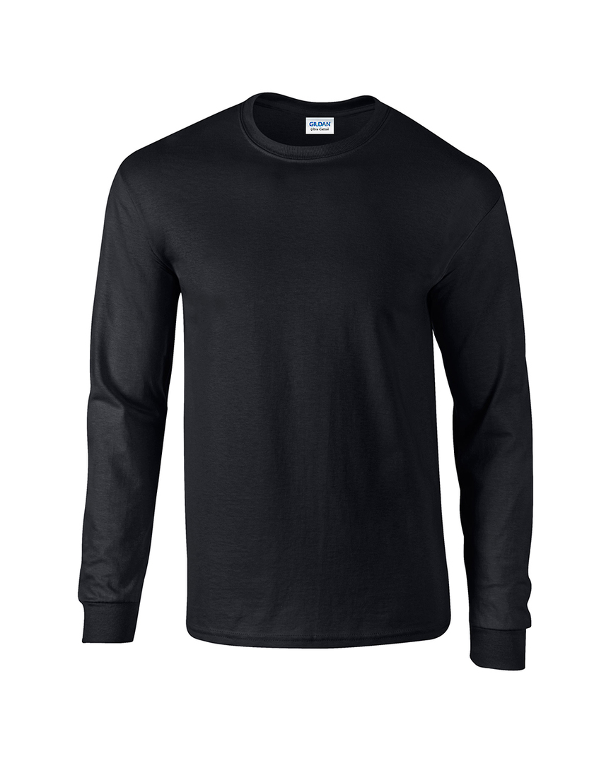 Ultra Cotton™ Classic Fit Adult Long Sleeve T- Shirt image 2
