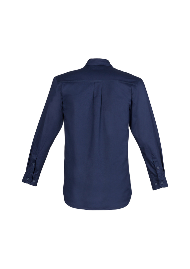 ZW121 Mens Lightweight Tradie Shirt - Long Sleeve image 2