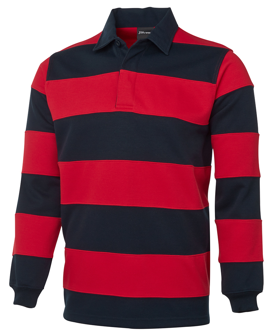 3SR Mens Striped Rugby Jersey image 0