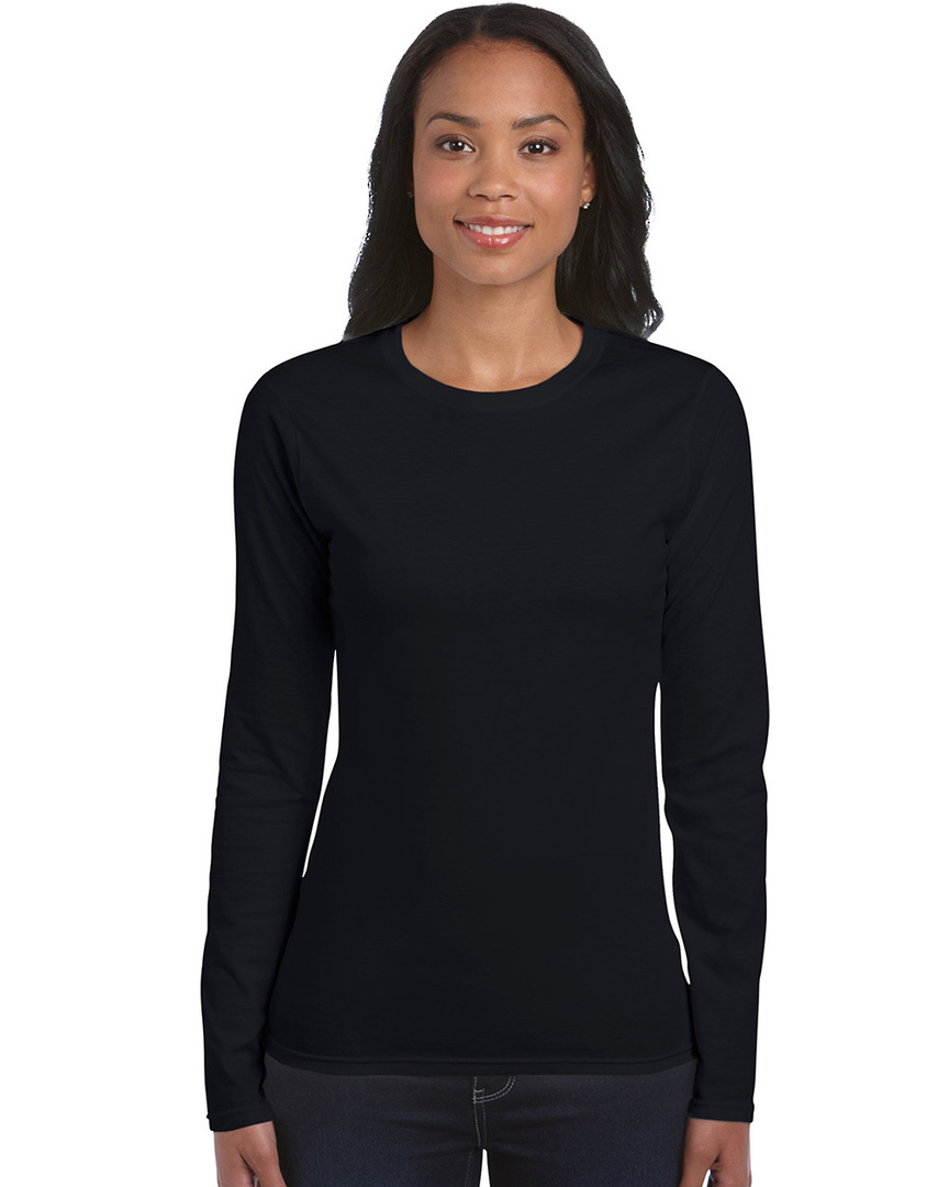 Softstyle® Fitted Ladies' Long Sleeve T-Shirt image 4