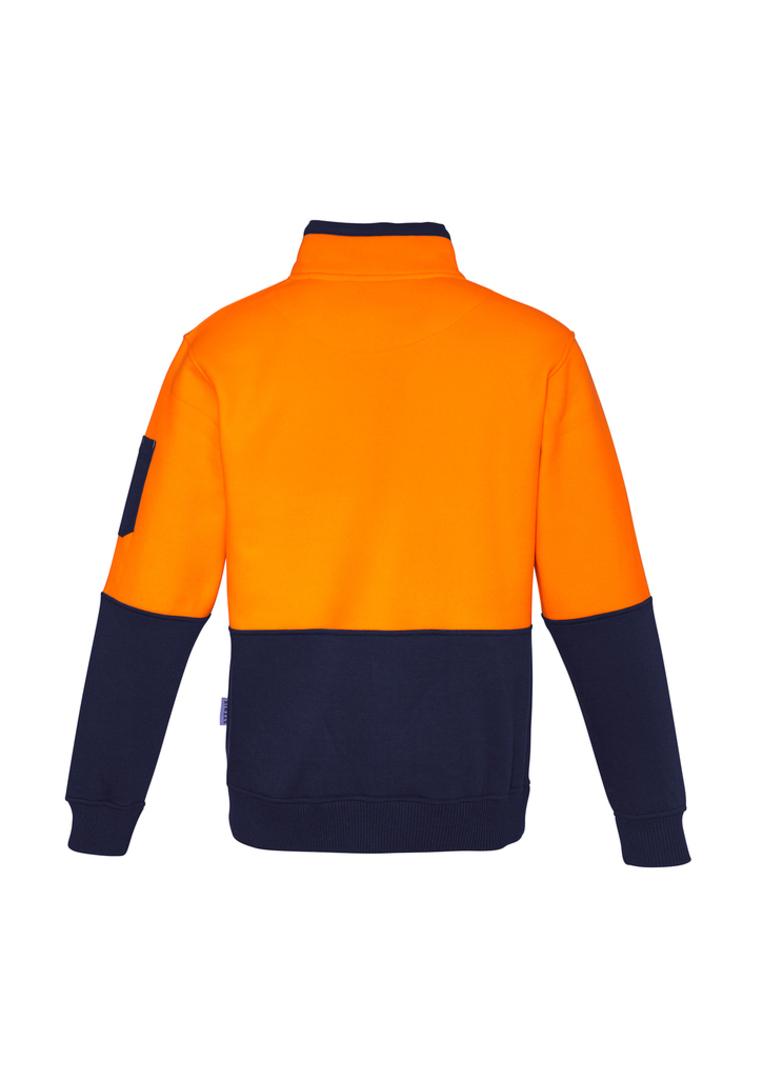 ZT476 Unisex Hi Vis Half Zip Pullover image 1