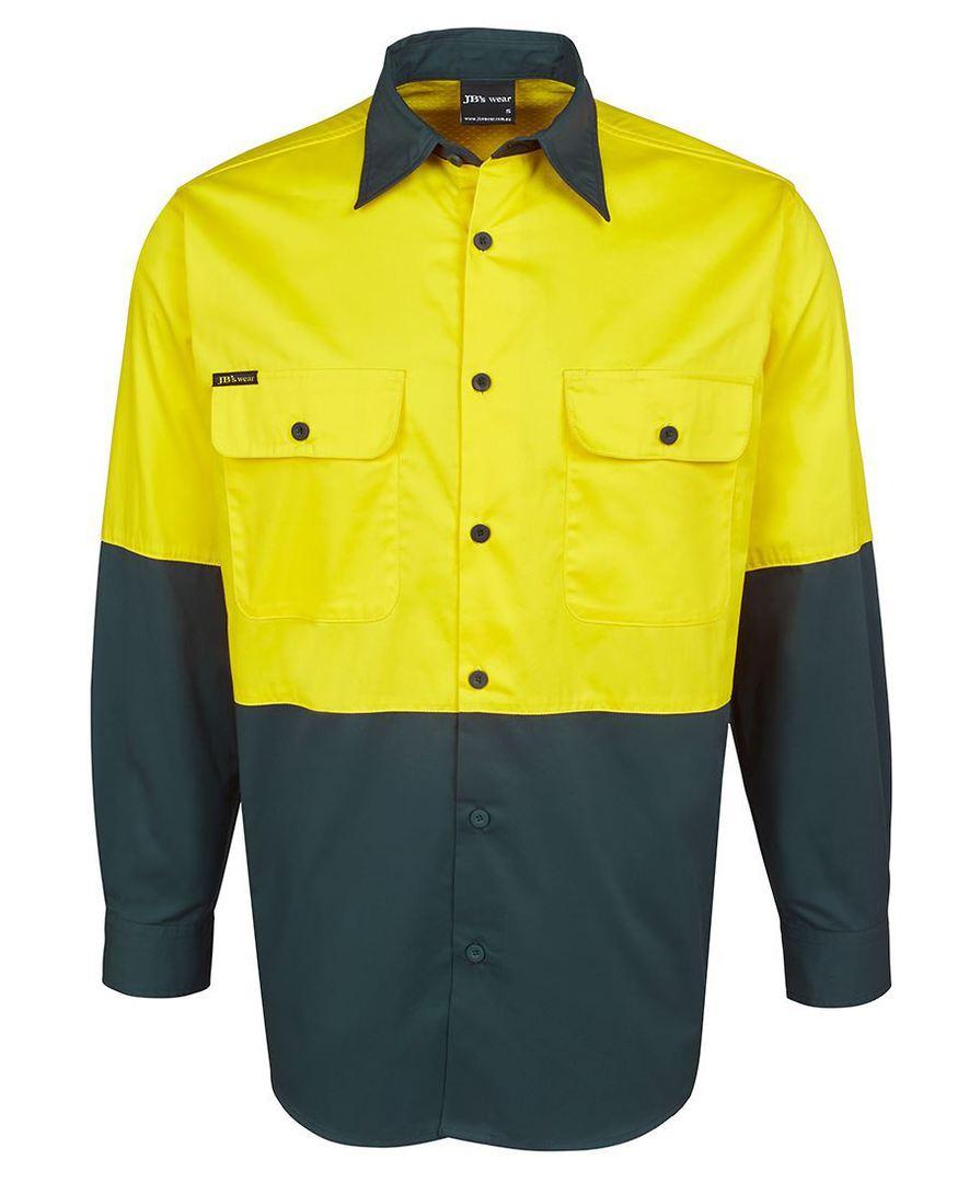 6HWSL Hi Vis L/S 150G Shirt image 6