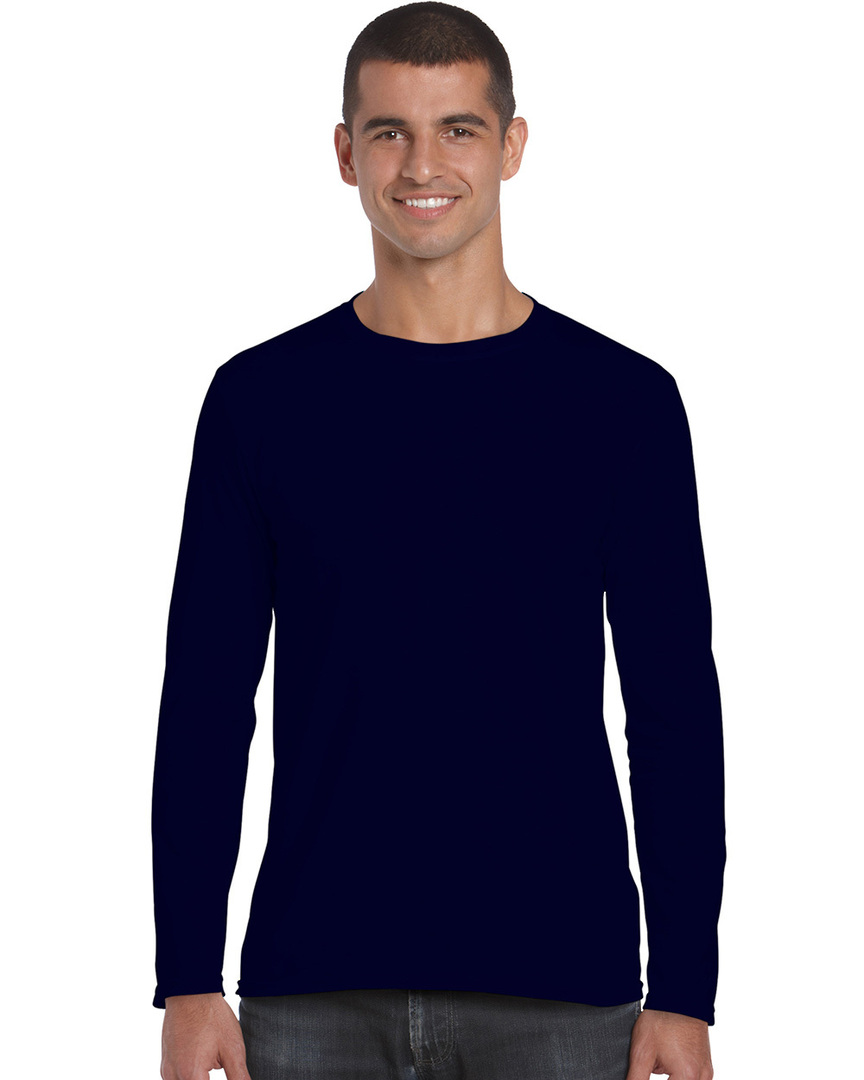 Softstyle® Euro Fit Adult Long Sleeve T-Shirt image 3