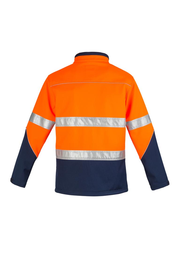 Unisex Hi Vis Softshell Jacket image 2